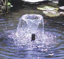 Cal Pump: Water Lily FT-4 Fountain Head