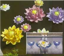 CobraCo: Floating Mini Water Lily Votive (Lavender)