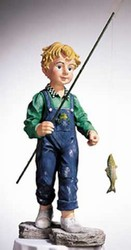 "CobraCo: Pond Pals ""Walking Fishing Boy"""